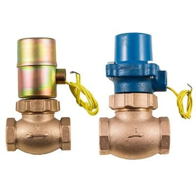 """Bronze .  1/8""""-3"""" npt<br> Normally Closed & Normally Open<br> Air/Inert gas. Water/Liquids. Oil to 400psi<br> Steam to 200psi<br> NEMA 1 Coil Enclosure Standard<br> NEMA 4,5,7 available"""
