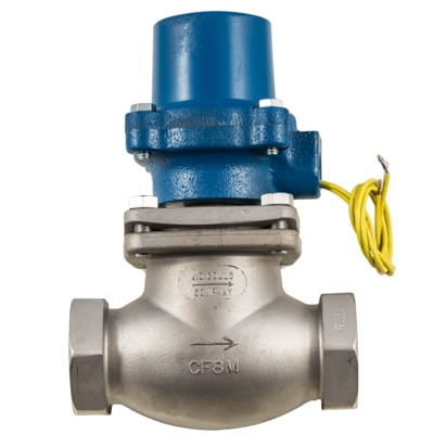 """Stainless Steel . 1/8""""-2""""npt<br> Normally Closed & Normally Open<br> Gasoline . Diesel Fuel . Fuel Oils to 150psi<br> NEMA 7 XP Class 1 Group D for Hazardous Locations"""
